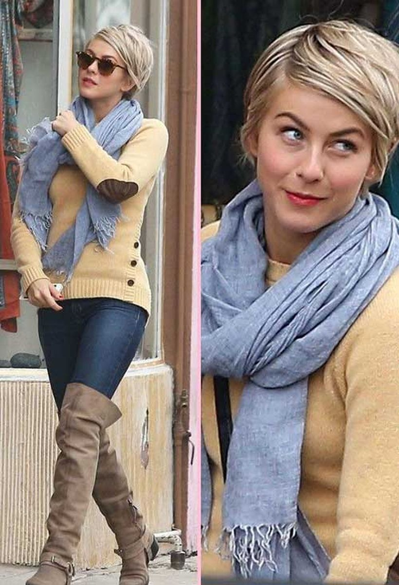 Cool short pixie blonde hairstyle ideas 130