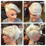 Cool short pixie blonde hairstyle ideas 33
