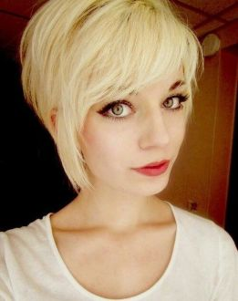 Cool short pixie blonde hairstyle ideas 47