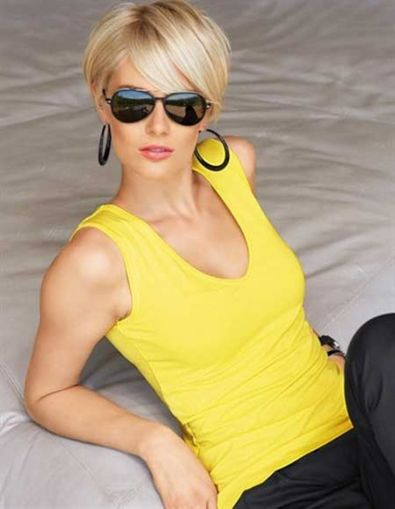 Cool short pixie blonde hairstyle ideas 55