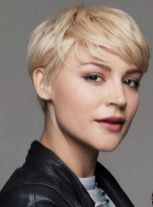 Cool short pixie blonde hairstyle ideas 83