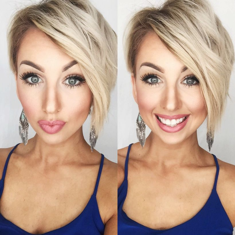Cool short pixie blonde hairstyle ideas 92