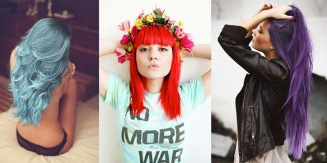 Crazy colorful hair colour ideas for long hair 122