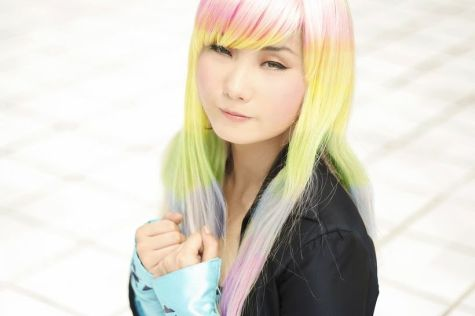 Crazy colorful hair colour ideas for long hair 184