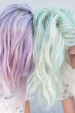 Crazy colorful hair colour ideas for long hair 31