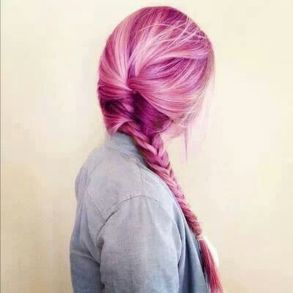 Crazy colorful hair colour ideas for long hair 54