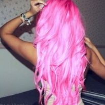 Crazy colorful hair colour ideas for long hair 59