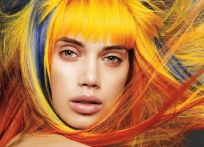 Crazy colorful hair colour ideas for long hair 72