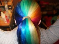 Crazy colorful hair colour ideas for long hair 73