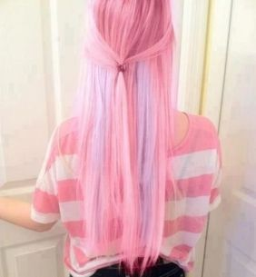 Crazy colorful hair colour ideas for long hair 74