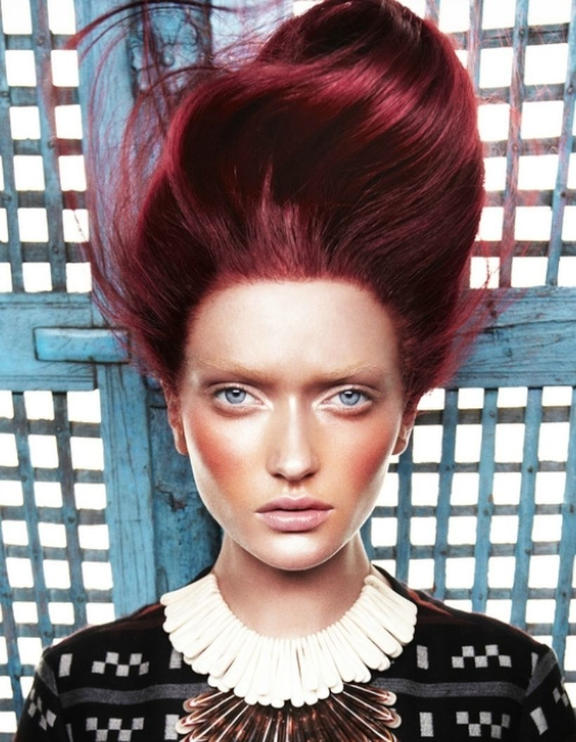 Crazy colorful hair colour ideas for long hair 88