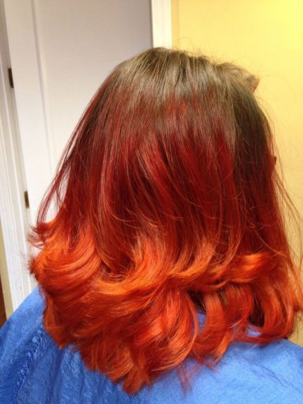 Crazy hair colour ideas for medium and short hair 10