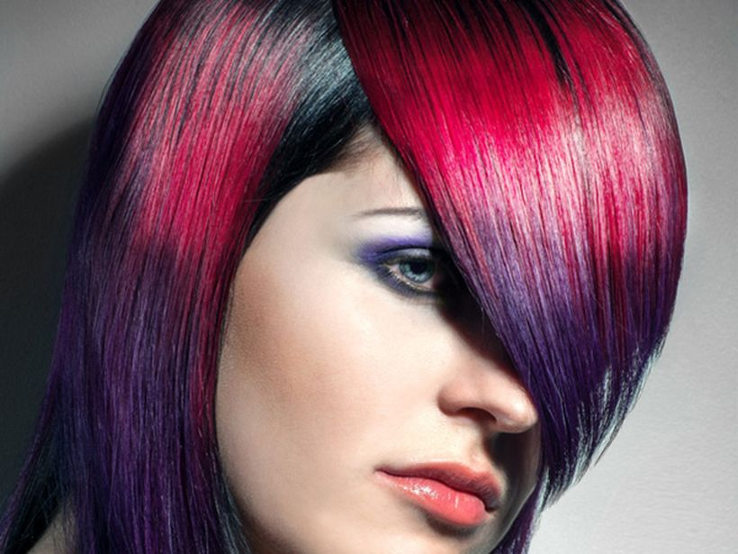 Crazy hair colour ideas for medium and short hair 103