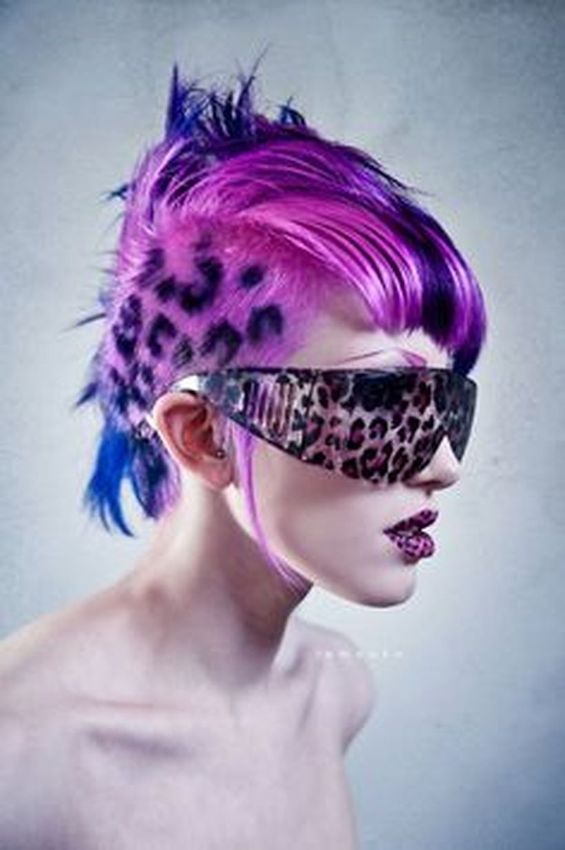 Crazy hair colour ideas for medium and short hair 25