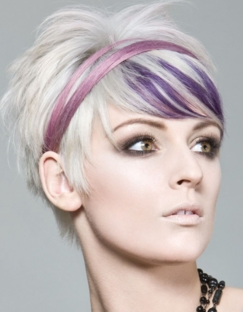 Crazy hair colour ideas for medium and short hair 27