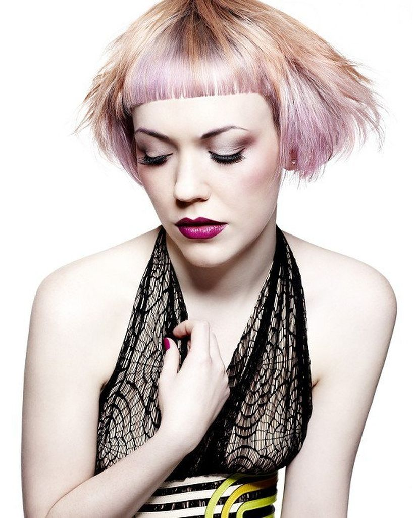 Crazy hair colour ideas for medium and short hair 37