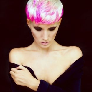 Crazy hair colour ideas for medium and short hair 45
