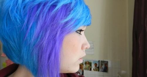 Crazy hair colour ideas for medium and short hair 5