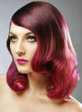 Crazy hair colour ideas for medium and short hair 50