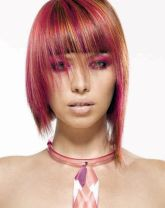 Crazy hair colour ideas for medium and short hair 58