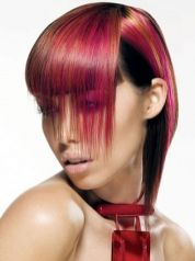 Crazy hair colour ideas for medium and short hair 68
