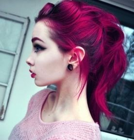 Crazy hair colour ideas for medium and short hair 8