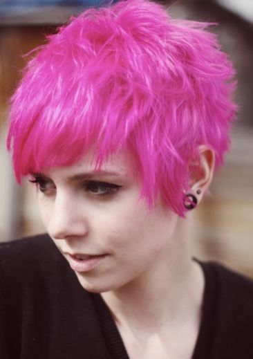 Crazy hair colour ideas for medium and short hair 93