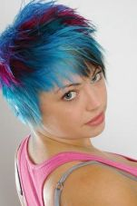 Crazy hair colour ideas for medium and short hair 97