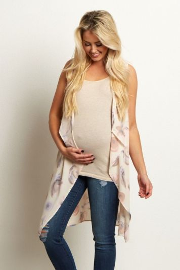 Fashionable maternity outfits ideas for summer and spring 108