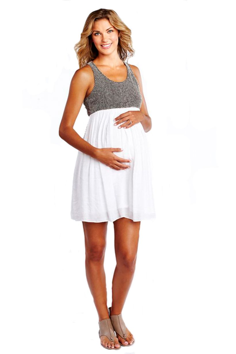 Fashionable maternity outfits ideas for summer and spring 117