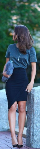 Fashionable skirt outfits ideas that you must try 29