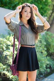 Fashionable skirt outfits ideas that you must try 7
