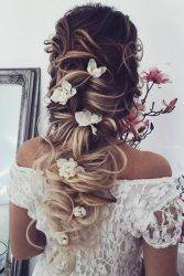 Gorgeous rustic wedding hairstyles ideas 17
