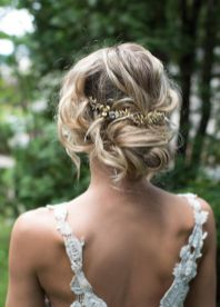 Gorgeous rustic wedding hairstyles ideas 29