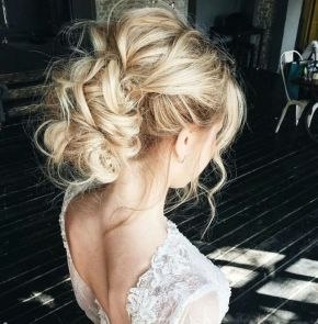 Gorgeous rustic wedding hairstyles ideas 46