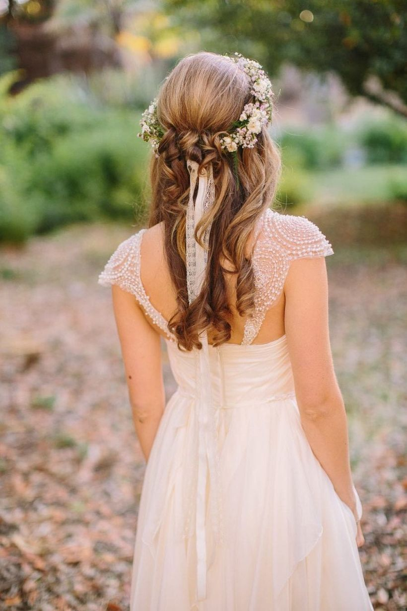 Gorgeous rustic wedding hairstyles ideas 48