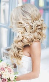 Gorgeous rustic wedding hairstyles ideas 50