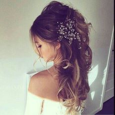 Gorgeous rustic wedding hairstyles ideas 53