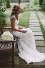 Gorgeous rustic wedding hairstyles ideas 56
