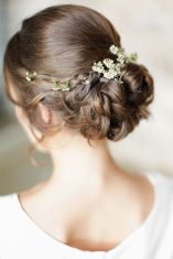 Gorgeous rustic wedding hairstyles ideas 68