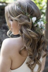 Gorgeous rustic wedding hairstyles ideas 85