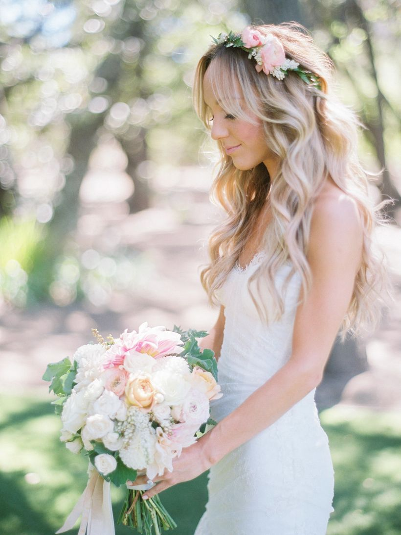 Gorgeous rustic wedding hairstyles ideas 87