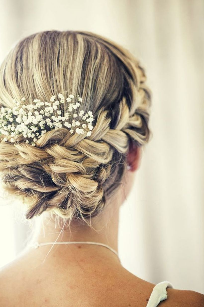 Gorgeous rustic wedding hairstyles ideas 94