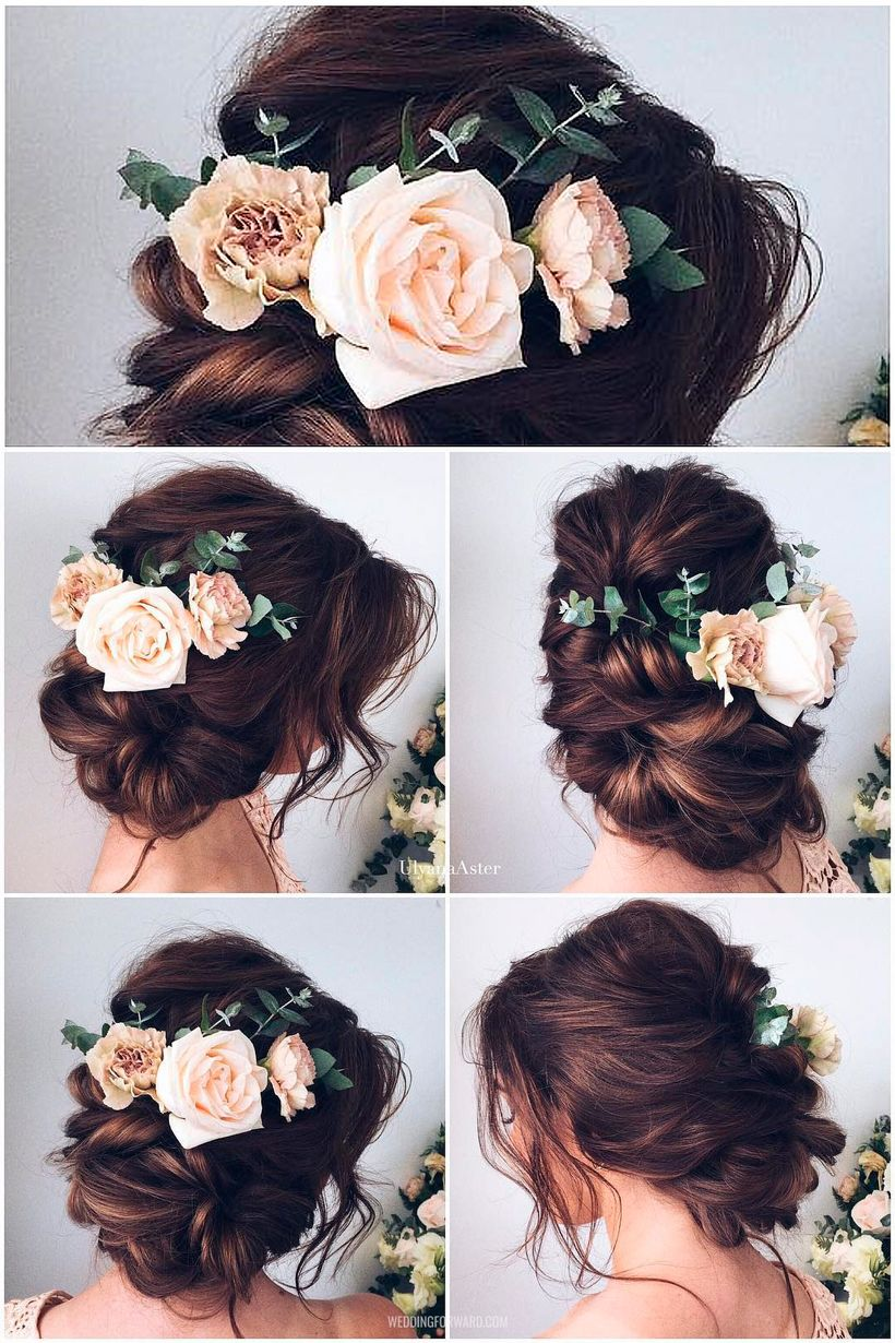 Gorgeous rustic wedding hairstyles ideas 96