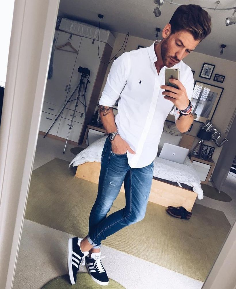 Inspiring casual men fashions for everyday outfits 21