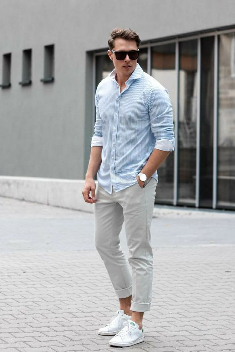 Inspiring casual men fashions for everyday outfits 22
