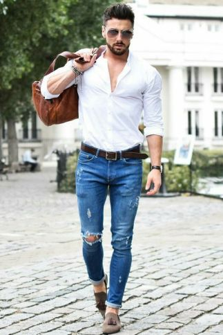 Inspiring casual men fashions for everyday outfits 52