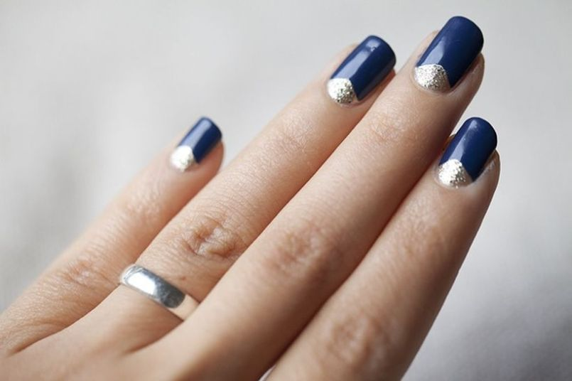 35 Inspiring Half Moon Nail Art To Copy Right Now Fashion Best