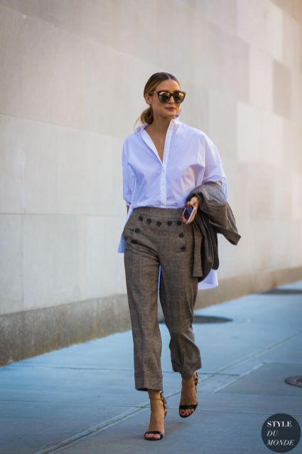 Inspiring simple casual street style outfits ideas 12