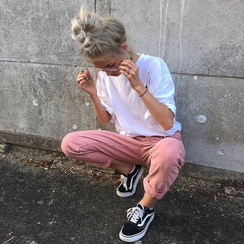 Inspiring simple casual street style outfits ideas 40
